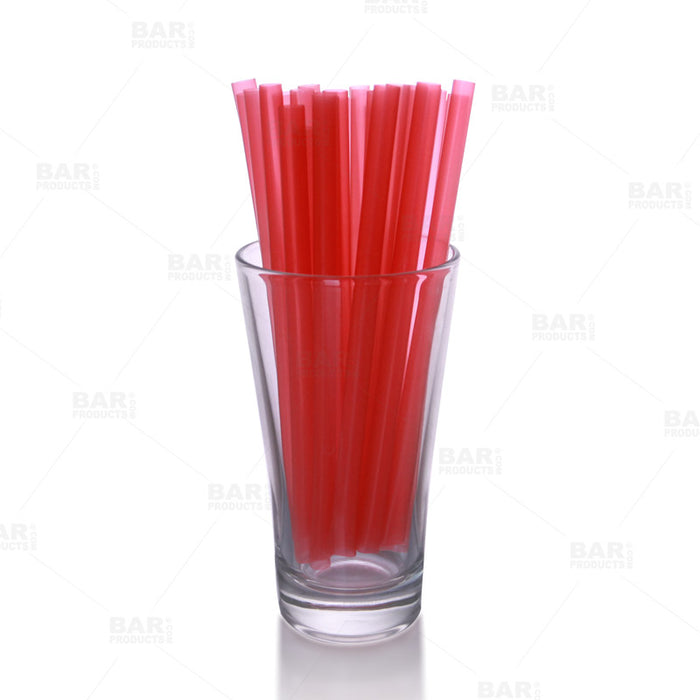 "BarConic® 6"" Straws- Red"