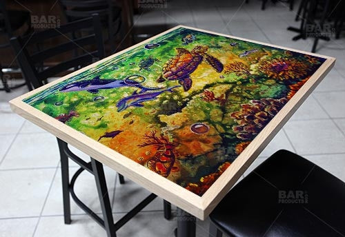 "The Reef 24"" x 30"" Wooden Table Top - Two Types Available"