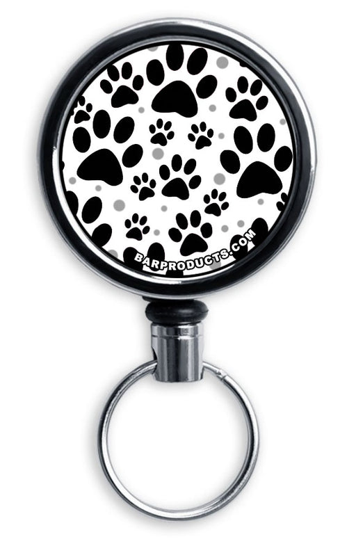 CUSTOMIZABLE Mini Bottle Opener with Retractable Reel - Puppy Love