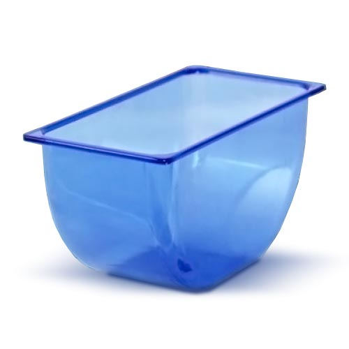 Replacement Condiment Holder Inserts - 1 Pint - Blue