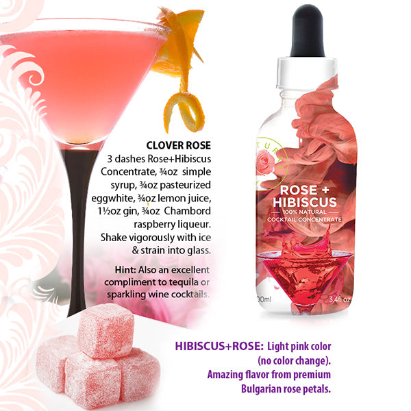 Hibiscus & Bulgarian Rose - B'LURE Flora Extract