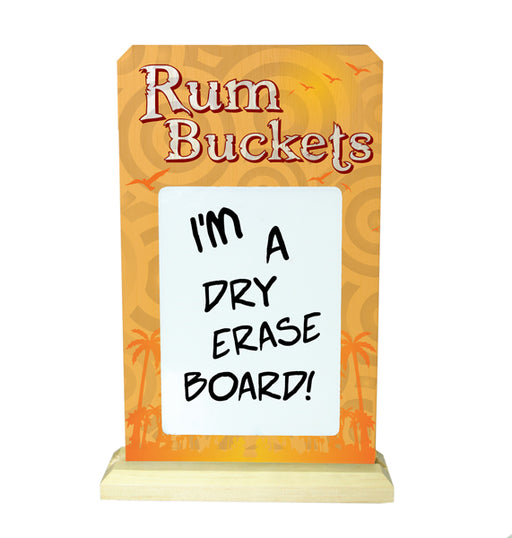 Rum Bucket Bar Sign