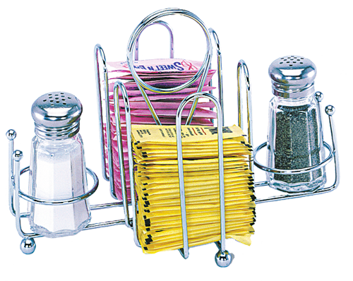Salt, Pepper and Sugar Packet Wire Holder
