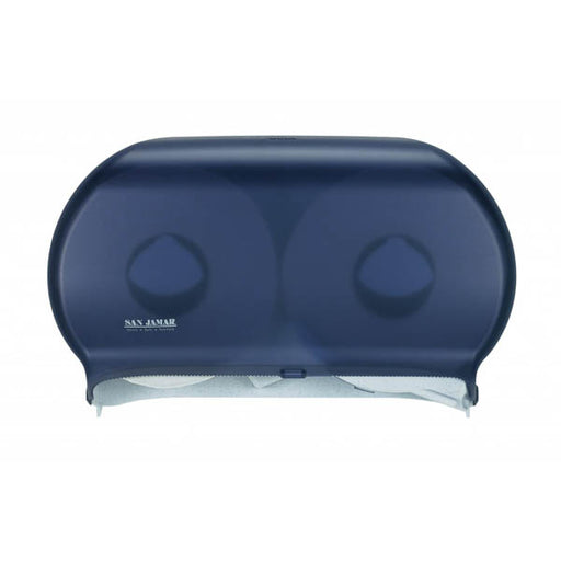 San Jamar Jumbo Twin Bath Tissue Dispenser