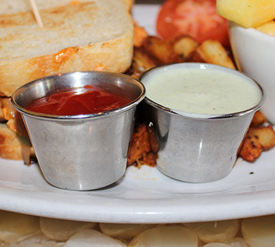 Sauce Cups - Stainless Steel