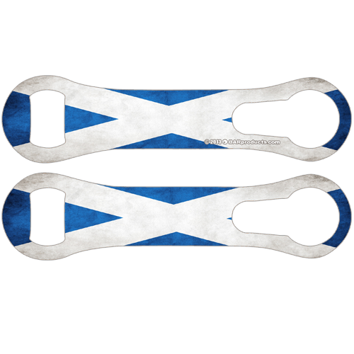 Custom Scotland Bottle Opener