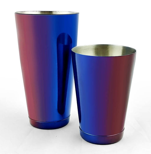 BarConic® Cocktail Shaker Set - 28oz / 18oz Weighted Tins - Candy Fusion