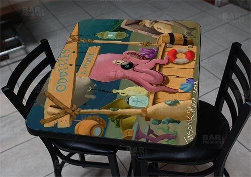 "Shoptopus 24"" x 30"" Wooden Table Top - Two Types Available"