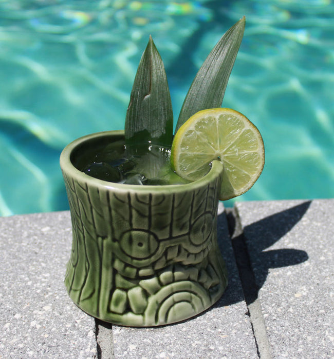 BarConic® Tiki Drinkware - Ceramic Short and Stubby - 8 ounce