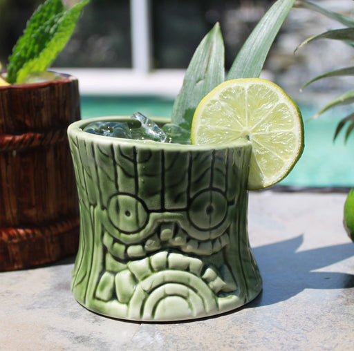 Tiki Drinkware - Ceramic Short and Stubby - 8 ounce