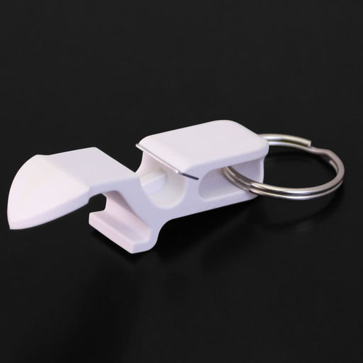Shotgun Can Opener - White