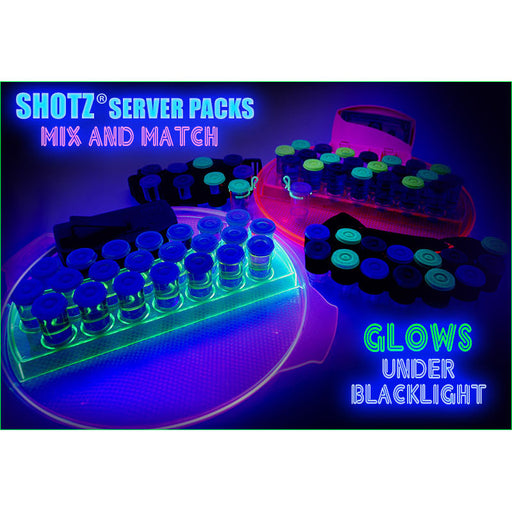 SHOTZ® Server Packs – MIX and MATCH - NEON