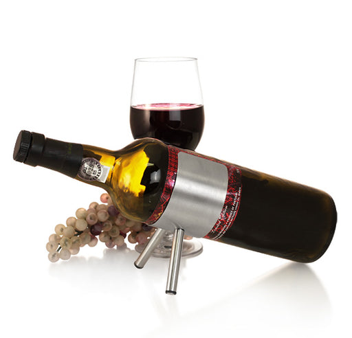 Stainless Steel Single Wine Holder