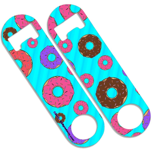 Skinny Mini Bottle Opener - Donuts