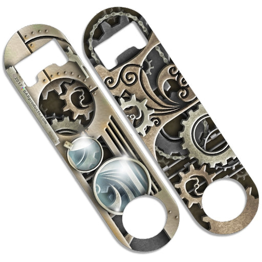 Skinny Mini Bottle Opener - Steampunk