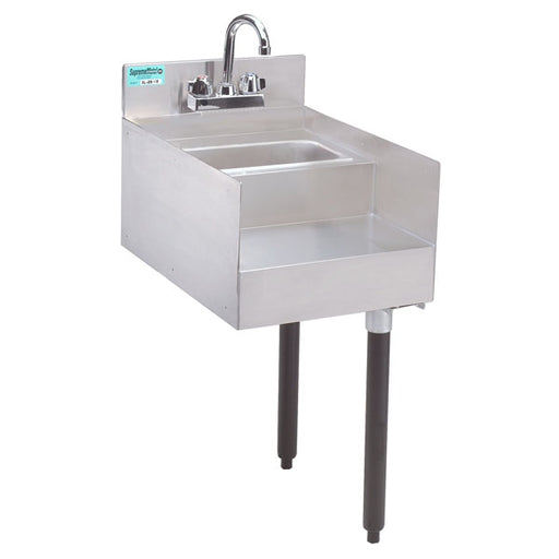 Slimline Blender station/sink combo