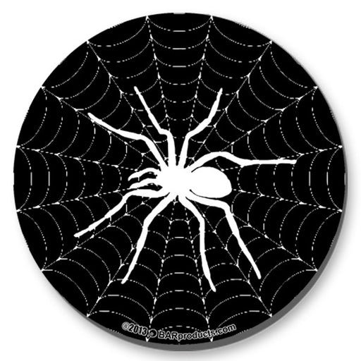 Spider Web Foam Kolorcoat™ Coaster - 4 inch Round