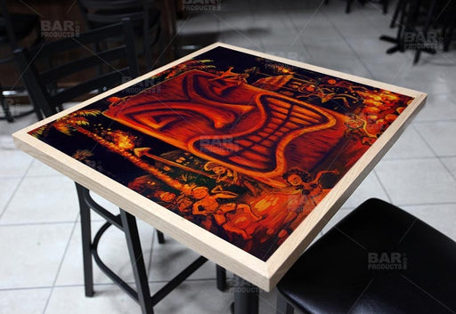 Midnight Sun Square Wooden Table Top - Two Sizes Available