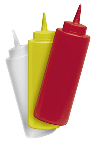 12 oz Condiment Squeeze Bottles