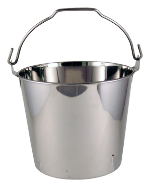 Tool/Tip Bucket - Stainless Steel