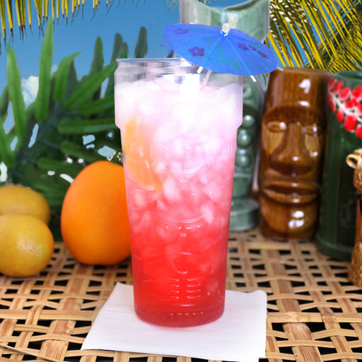 Stackable Plastic Tiki Glass – 26 oz.