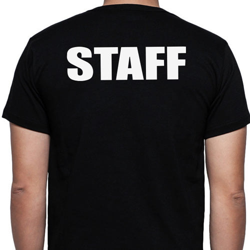 Staff T-Shirt, Full - Back