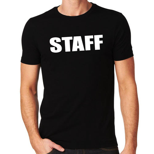 Staff T-Shirt, Full - Front