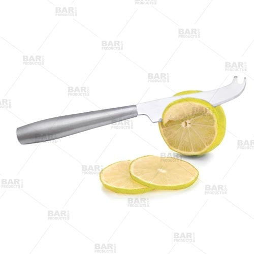 Stainless Steel Bartending Cocktail and Garnish Knife - 9 inch