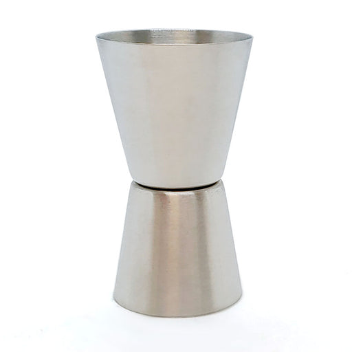 Basic Double Sided Jigger - Stainless Steel - 1oz X 1.5oz