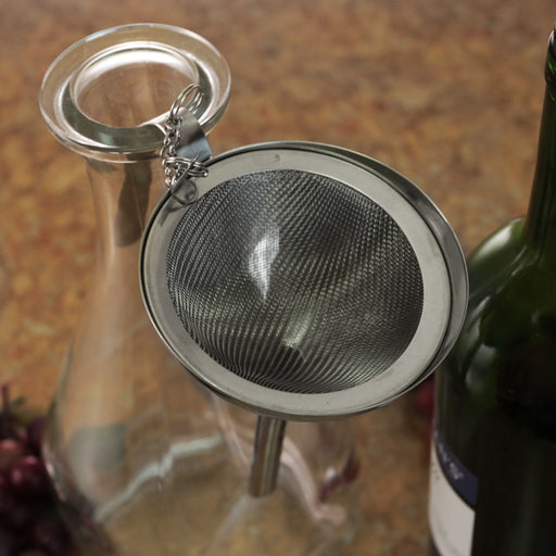 Wine Funnel with Screen