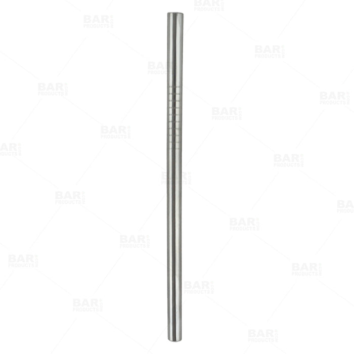 Short Stainless Steel Straws - Pack of 4