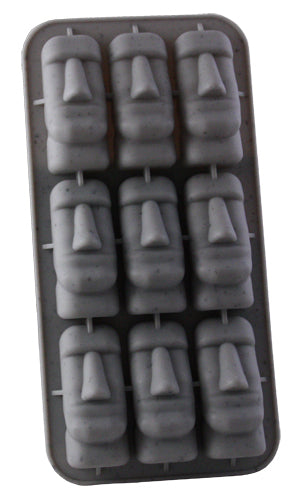 Easter Island Tiki Ice Cubes