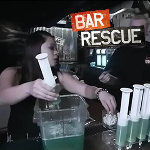 Polycarbonate Food Storage Container on Bar Rescue