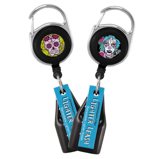 Sugar Skull Girl Designs Lighter Leash® - Nylon Cord