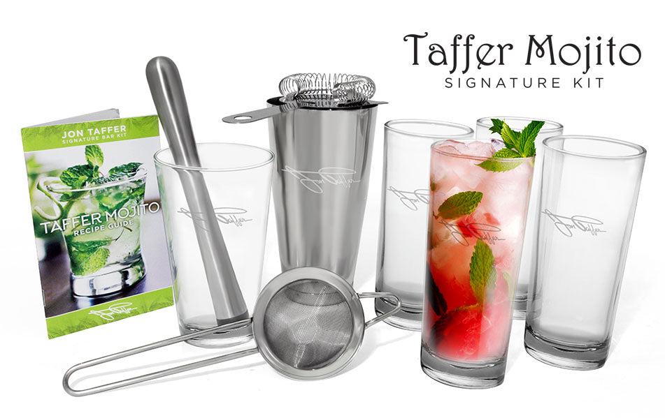 Jon Taffer Signature Bar Kit - TAFFER MOJITO