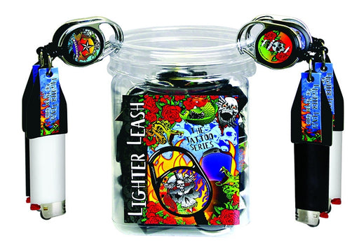 Lighter Leash® - TATTOO SERIES - Jug of 30