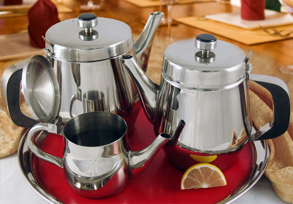Teapots with Gooseneck - Stainless Steel