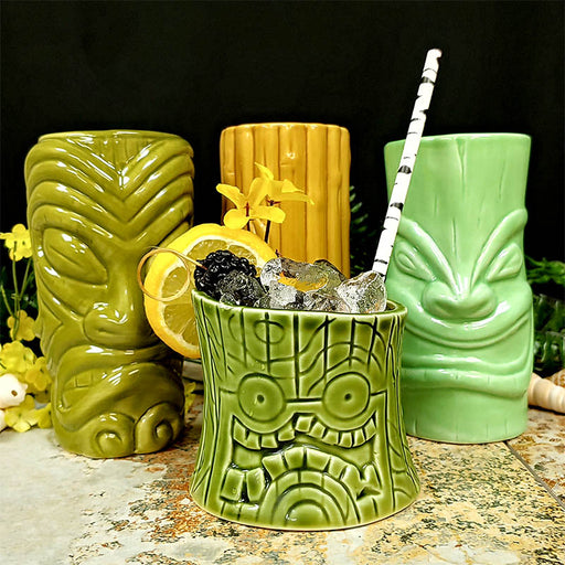 Tiki Mugs Drinkware Package 4 - Set of 4