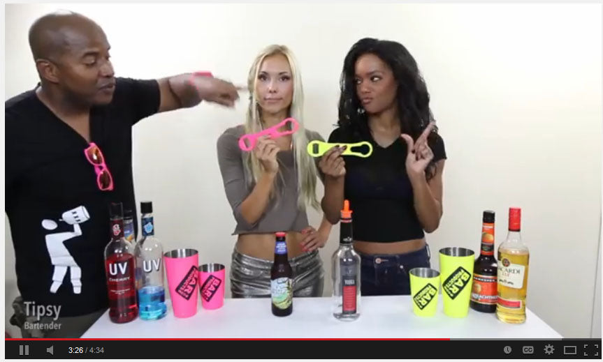 Tipsy Bartender uses our V-Rod® Openers