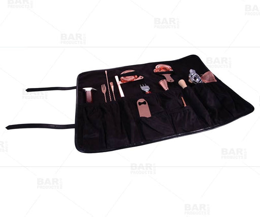 Olea™ Barware Tool Roll - Black