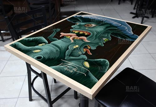"Two Face Mushroom 24"" x 30"" Wooden Table Top - Two Types Available"