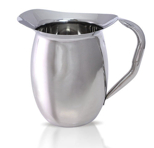 Stainless Steel Bell Pitcher - 2 Qt.