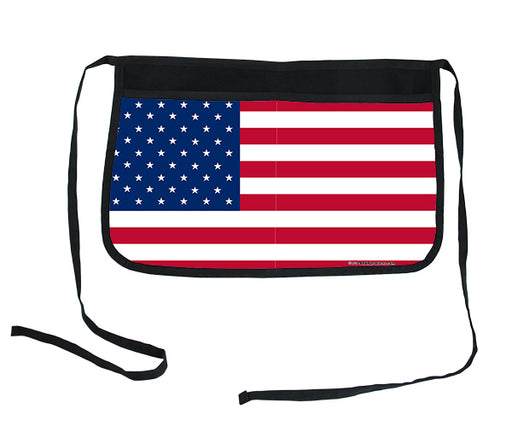 Flag of USA Two-Pocket Kolorcoat™ Server Apron