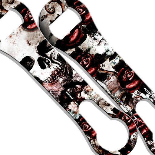 V-Rod® Bottle Opener - Skulls and Roses