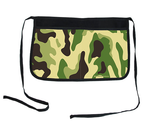 Green Camo Two-Pocket Kolorcoat™ Server Apron