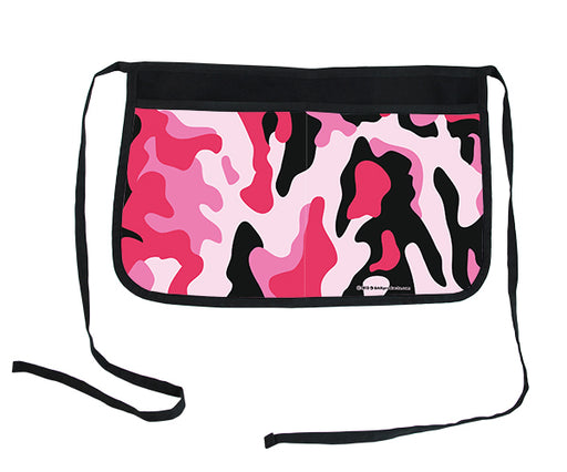 Pink Camo Two-Pocket Kolorcoat™ Server Apron