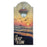 Cool Sunset Custom Wooden Bottle Opener with Magnetic Cap Catcher