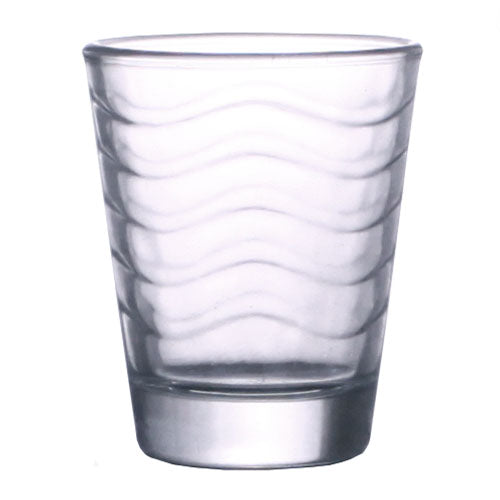 BarConic® Glassware - Shot Glass - Clear Wave 1.75 ounce