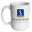 Custom Coffee Mug - Blank - 15 ounce