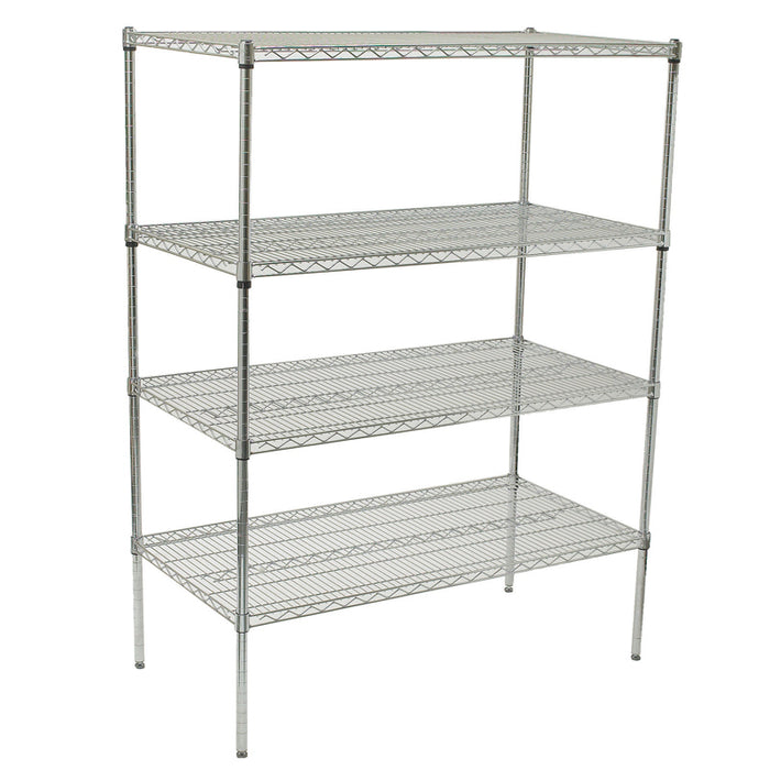 "Chrome Plated Wire Shelves 18"" Depth (Various Sizes)"